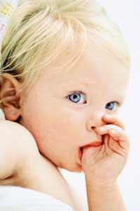 Reflejos de los bebes por meses